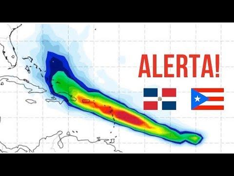 🌎 Tormenta Tropical Maria: Republica Dominicana y Puerto Rico en peligro por nuevo fenomeno tropical