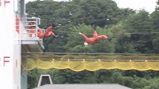 上田地域広域連合消防本部総合訓練場竣工式 平成27年8月11日