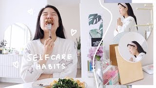 Self-care habits to incorporate into your daily routine help you stay calm, positive & grounded as we're all staying indoors. 🌱 thank uruoi for sponso...
