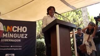 Mtra. Ernestina Ramirez realizo arranque de campaña.