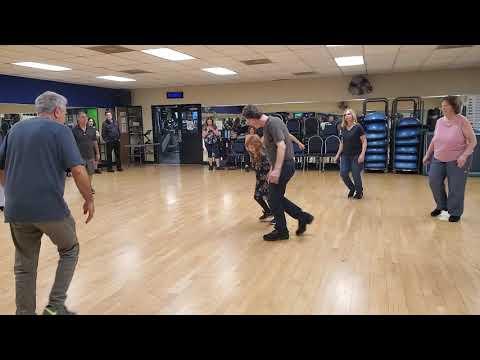 Mini-GingE (Madilynn) Dancing Israeli Folk Circle Dance, Lo Ahavti Dai, On October 17, 2019