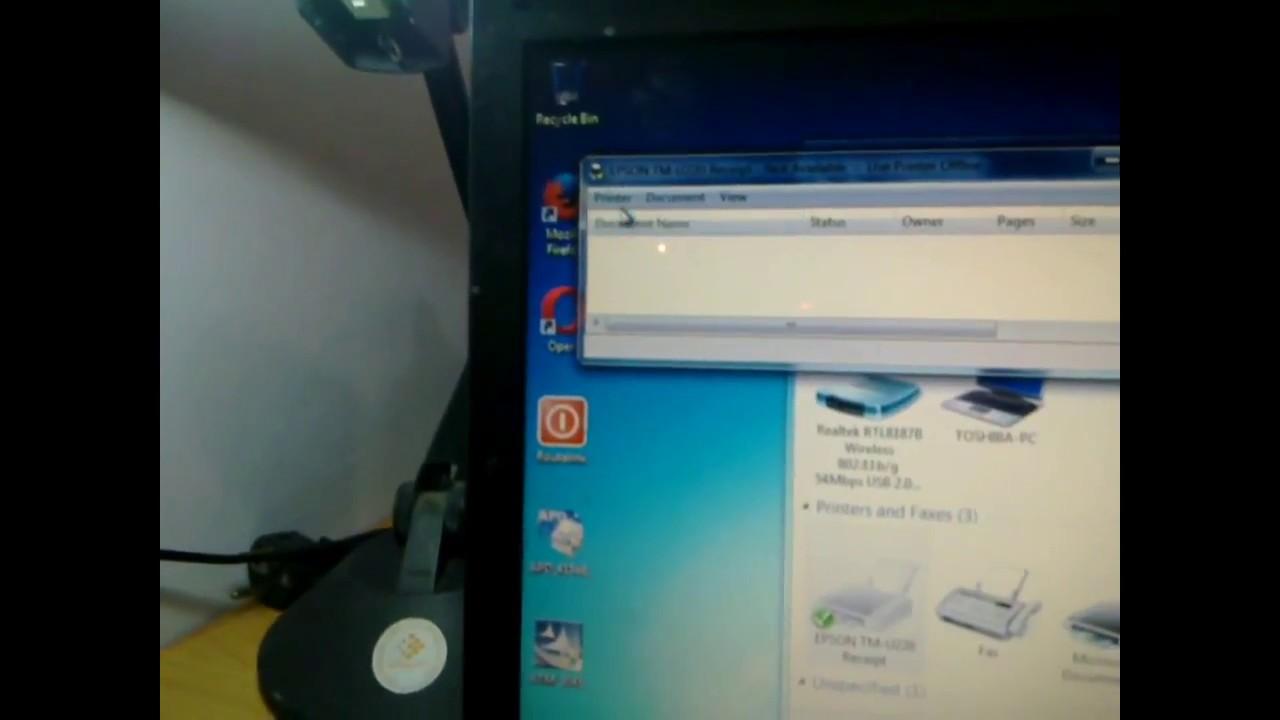 descargar driver de impresora epson tm u220 para windows 7