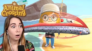Museum opened and I caught an OARFISH - Animal Crossing [4]