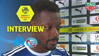 Interview de fin de match :Olympique de Marseille - RC Strasbourg Alsace ( 2-0 ) / 2019-20
