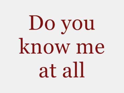 John Mayer - Do You Know Me Lyrics