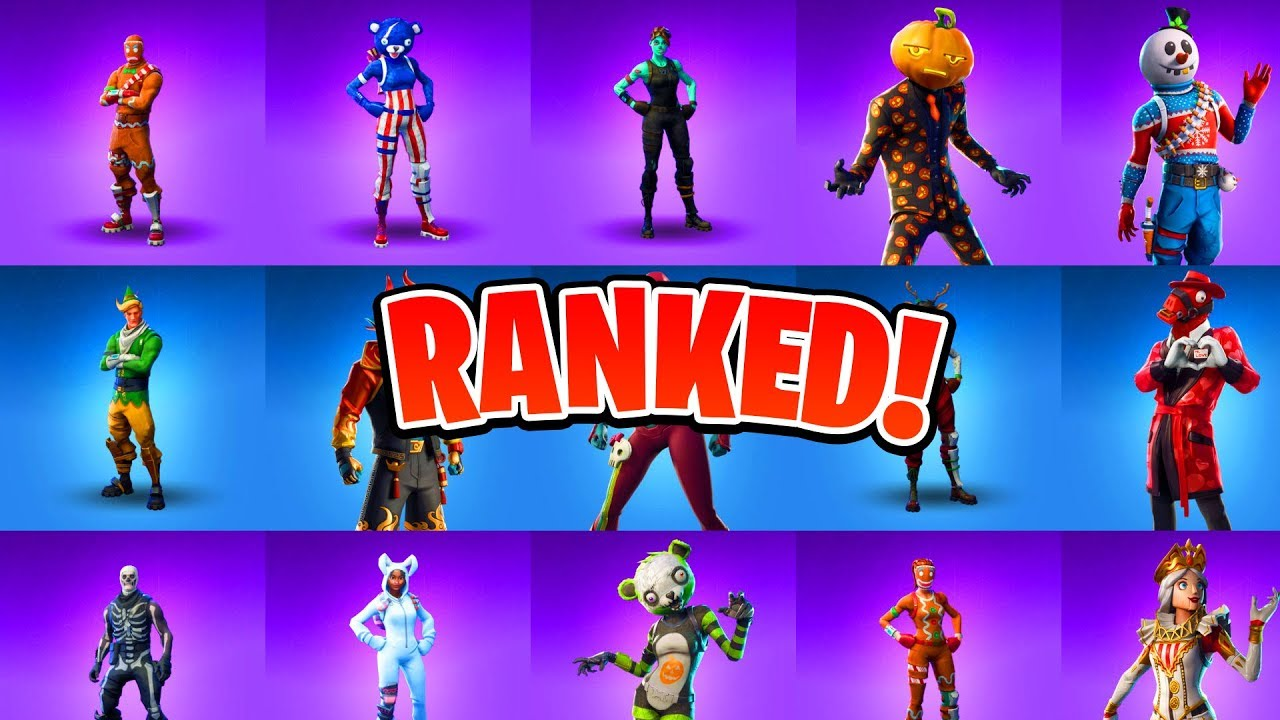 All Christmas Skins Fortnite.Ranking All Holiday Fortnite Skins All Christmas Halloween Easter Skins Ranked