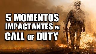Los 5 Momentos más Impactantes en juegos de Call of Duty I Fedelobo