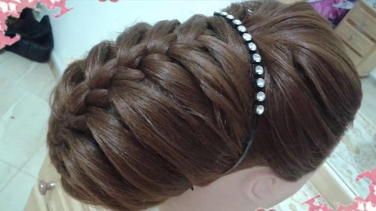 Peinados recogidos faciles para cabello largo bonitos y - Peinados nina pelo largo ...