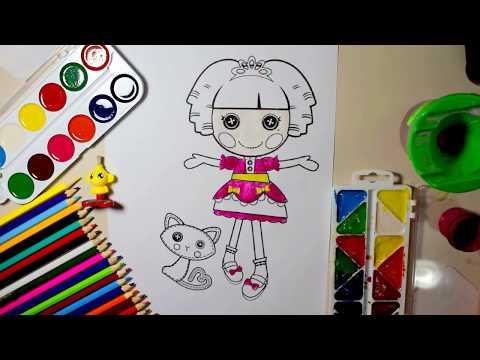 Nick Jr Lalaloopsy Coloring Pages