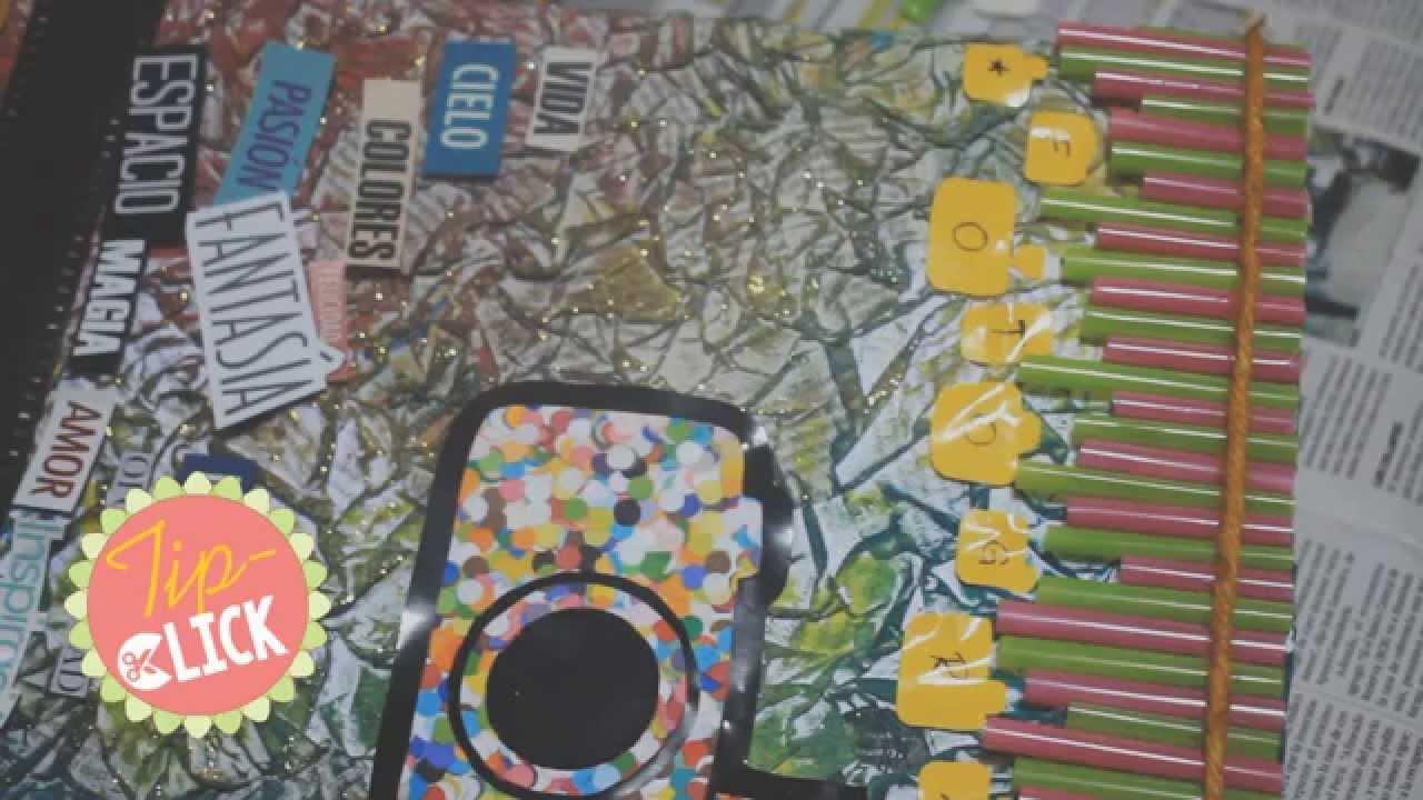 Manualidades recicladas album de fotos reciclado con - Manualidades album de fotos ...