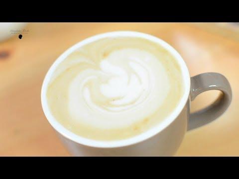 My 7 am espresso macchiato - how to make an amazing caffe' macchiato from home - Gionatan Tarchi