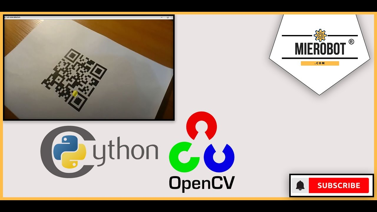 OpenCV QR detection using python
