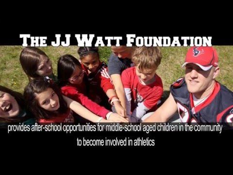 The J.J. Watt Foundation PSA