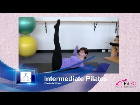 Intermediate Pilates Full 30 min workout, Elizabeth Wilson