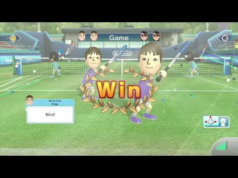 Wii Sports Club Part 2 - Tennis