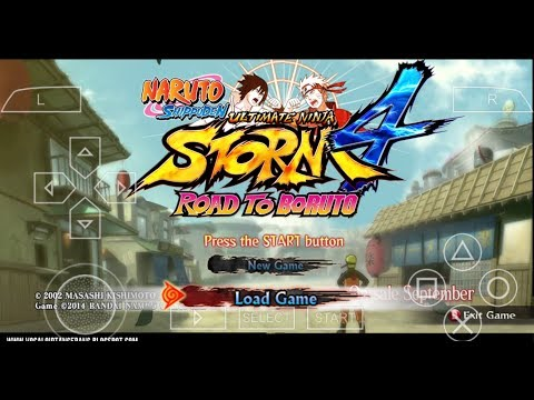 Download Naruto Shippuden Ultimate Ninja Storm 4 || For Android Psp | In Hindi