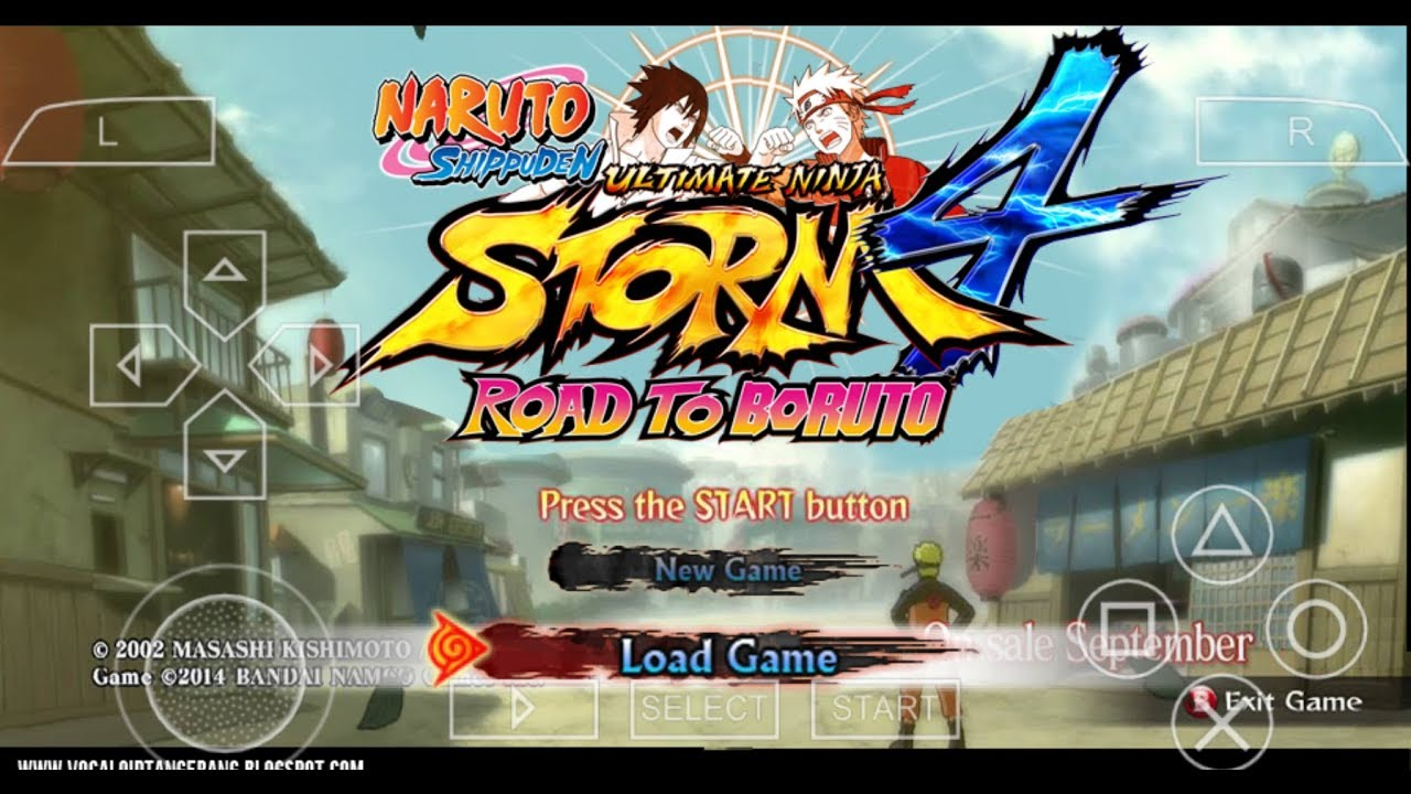 Download Naruto Shippuden Ultimate Ninja Storm 4 For Android Psp