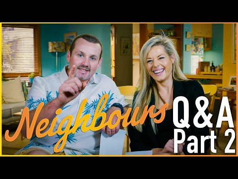 Ryan Moloney (Toadie Rebecchi) and Madeleine West (Dee Bliss) Q&A Part 2