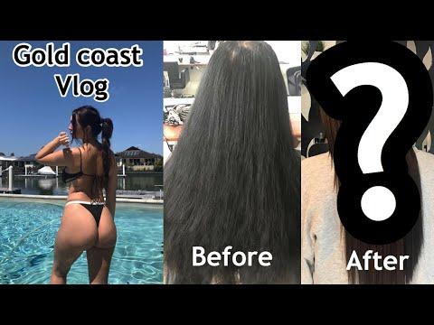 GOLD COAST + NEW HAIR VLOG! Anna Paul