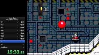 Sonic Blast Knuckles Best Ending Speedrun in 24:48 [Current World Record]