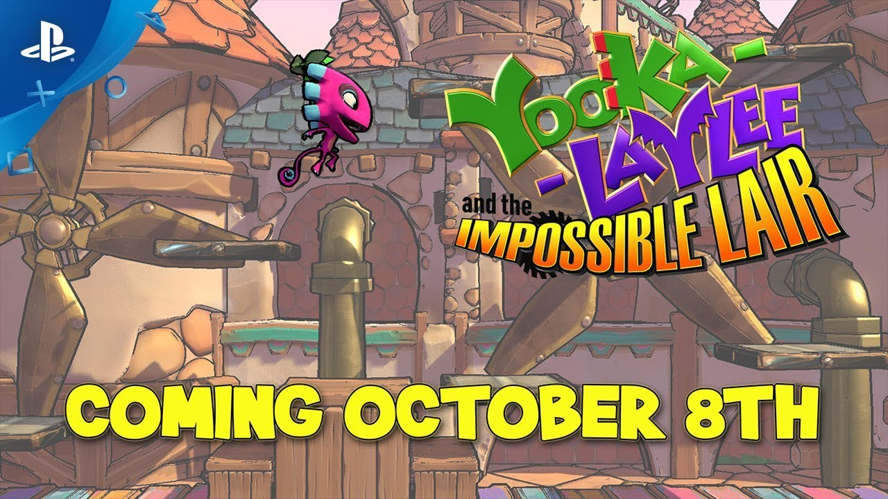 Game 'Yooka-Laylee and the Impossible Lair' chega em 8 de