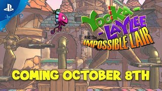 Yooka-Laylee and the Impossible Lair - Release Date Trailer | PS4