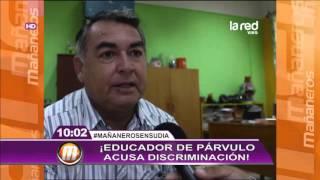 Educador de párvulo acusa discriminación