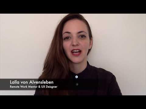 The Remote Future Summit: Video invitation - Laïla von Alvensleben