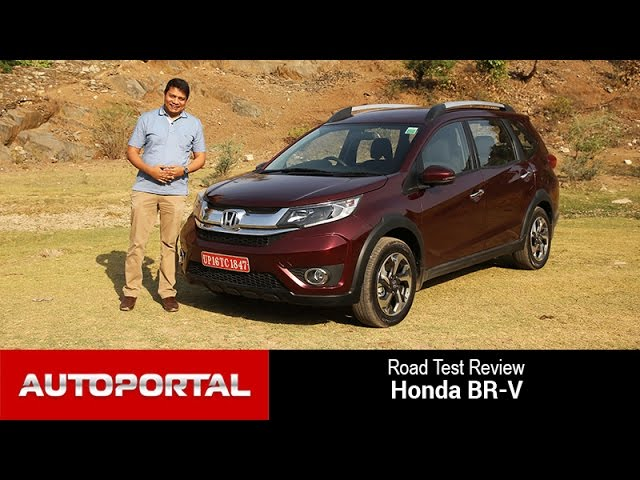 Honda BR-V ( India) Test Drive Review - Autoportal