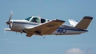 Decolagem - Beechcraft Bonanza C35 - PR-WBJ