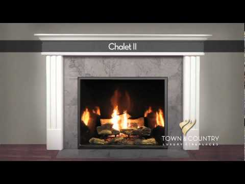 Captivating Town And Country Fireplace
