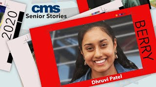 CMS Senior Stories: Dhruvi Patel, Phillip O. Berry Academy of Technology
