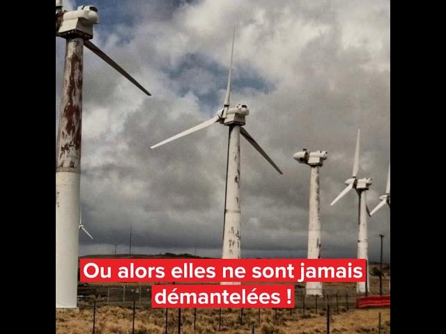 Promoteurs éoliens , les Tartuffes de l'écologie...