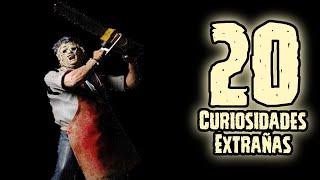 TOPS 20: 20 Curiosidades Extrañas De Leatherface (Masacre en Texas)
