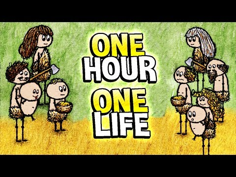 One Hour One Life - ONLY ONE HOUR TO LIVE Surviving & Relying on Others - One Hour One Life Gameplay