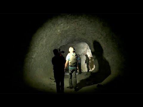 Мощный подземный укрепрайон