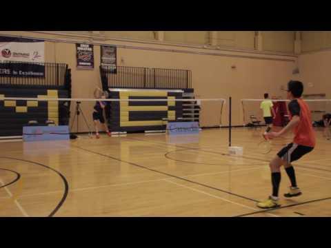 Hawk Game Report Badminton Ryan Chow VS Harry Soo, January 6th, 2017