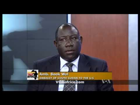 Amb. Baak Wol @ Voice Of America Television Studios on 8 July 2015