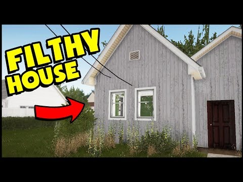 CAN WE FLIP THE WORLD'S MOST DISGUSTING HOUSE? (House Flipper Gameplay)