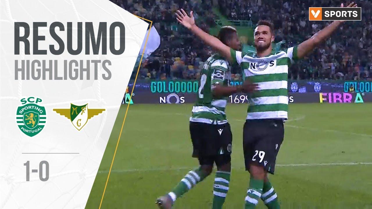 Спортинг Лиссабон  1-0  Морейренси видео