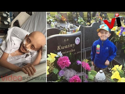 Boy Suffering From Cancer Pleads To Lay Him To Rest Next To His Mother