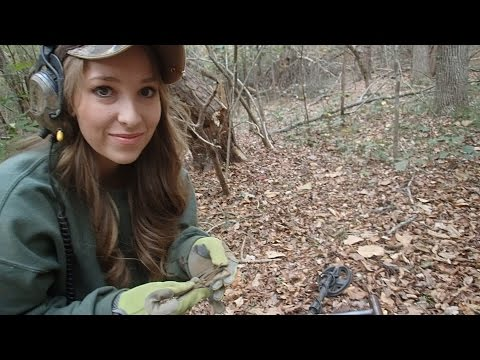 Metal Detecting with Abby! - Found some Civil War Relics!