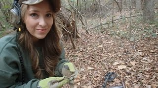 Metal Detecting with Abby! - Found some Civil War Relics! | Nugget Noggin