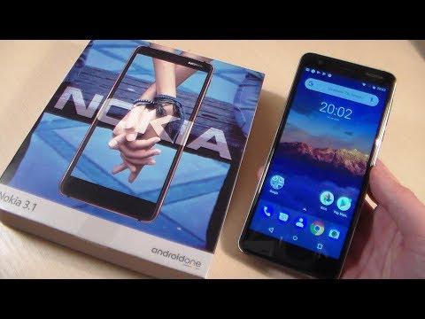 13f4ee9992bb0 Обзор Nokia 3.1 2018 (TA-1063) - YouTube