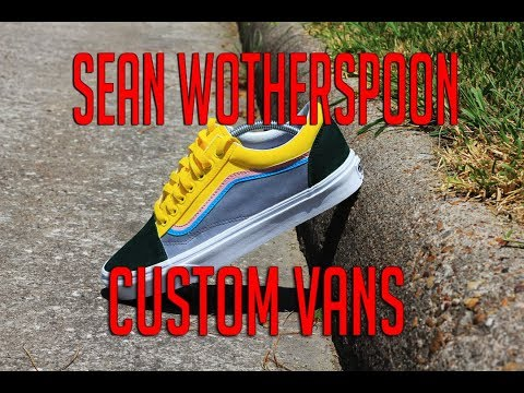 Sean Wotherspoon Custom Vans DIY How To