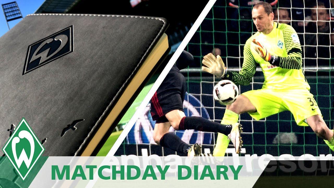 Jaroslav Drobn½ an Werder Fans Matchday Diary