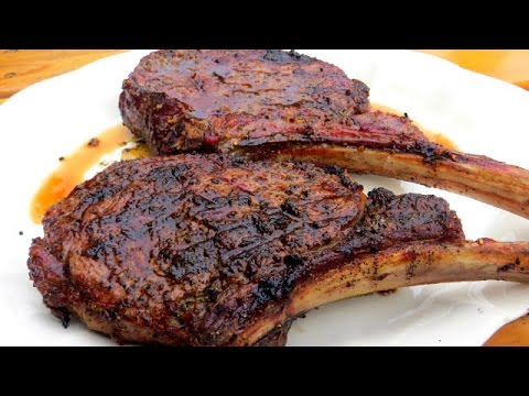 How to Grill a Tomahawk Rib-Eye Steak - The Wolfe Pit