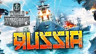 WORLD OF WARSHIPS - LES CROISEURS RUSSES !! - Gameplay avec Fanta PC HD FR