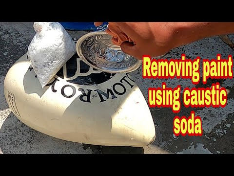 removing-paint-using-caustic-soda-|-possible-or-not