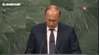 ONU : Poutine propose bénévolement des greffes de testicules pour l'ensemble des dirigeants arabes